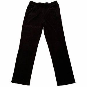 NWT Zenergy Chico's 1 = Medium 8 Slim Velour Pants